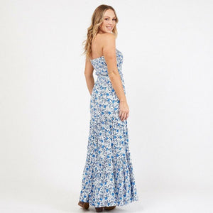 Sea Jewel Strapless Dress