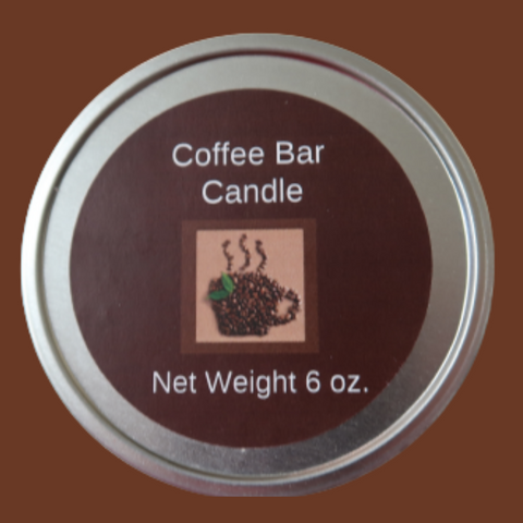 Coffee Bar Wooden Wick Soy Candle