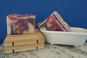 Blackberry Bling Artisan Soap