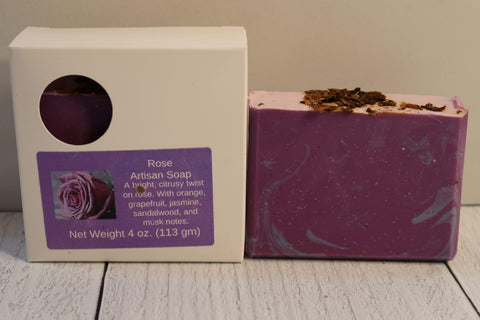 Pamper Yourself LLC Artisan Soap - Floral Rose Artisan Soap