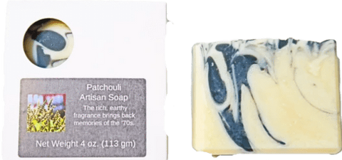 Pampering Self Products Artisan Soap - Essential Oil Patchouli Artisan Soap