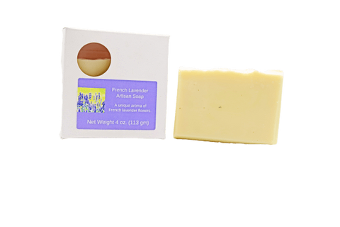 Pampering Self Products Artisan Soap - Floral French Lavender Artisan Soap
