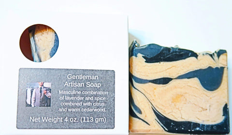 Pampering Self Products Artisan Soap - Gentleman Gentleman Artisan Soap