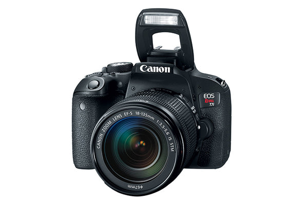 CANON EOS REBEL T7I CON LENTE 18-135MM