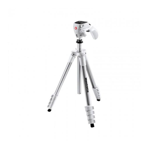 TRIPIE MANFROTTO MKCOMPACTACN-WH BLANCO