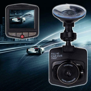 "New Black Full HD 1080p Car DVR Vehicle Camera Video 2.4"" Dash Cam G-sensor"