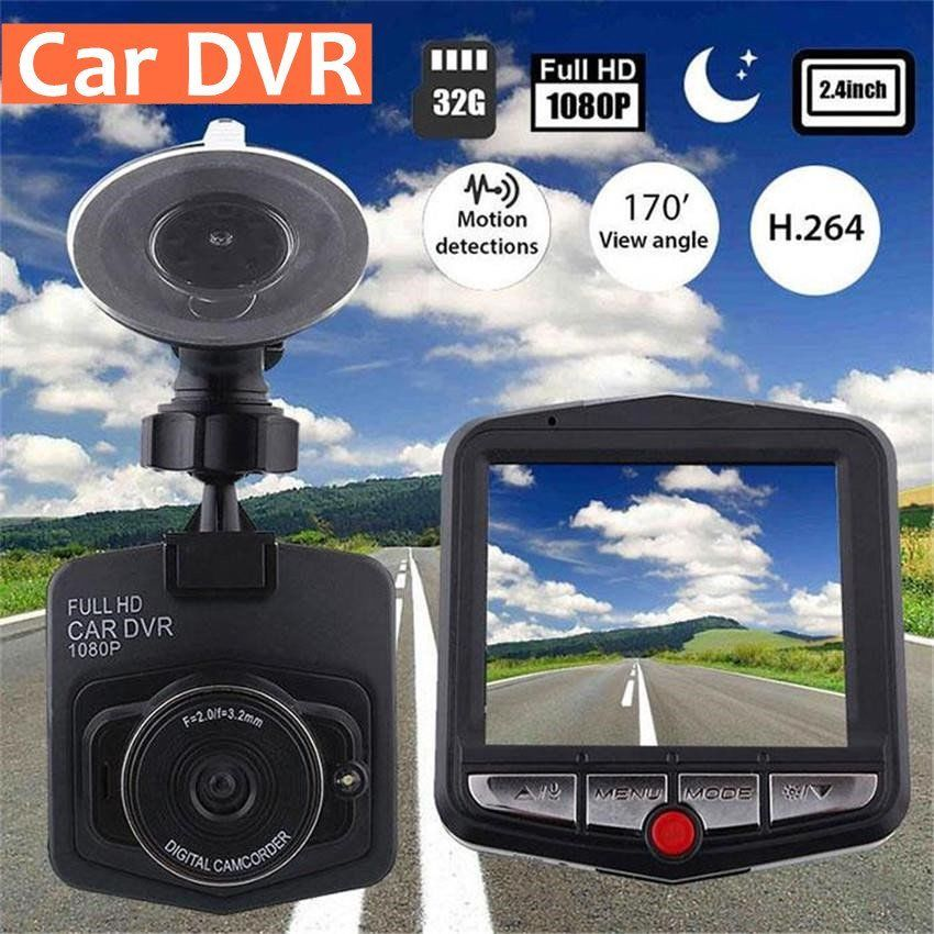 New Black Full HD 1080p Car DVR Vehicle Camera Video 2.4