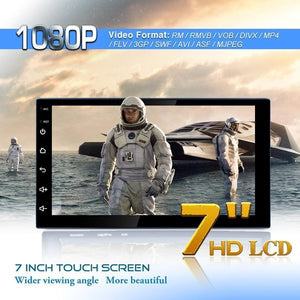 New 2 Din Android 10.1 2GB/16GB Car Stereo GPS Navigation FM Radio Player Double Din WIFI