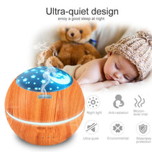 Load image into Gallery viewer, Ultrasonic Home and Office/Aromatherapy Oil Diffuser Light Ultrasonic Air Humidifier