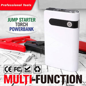 30000mAh Car Jump Starter Emergency Charger Booster Power Bank Battery Portable