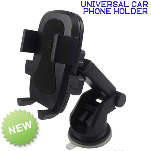 New One Touch 2 Universal Car Mount holder for Smartphones Iphone X Android Samsung
