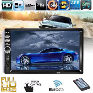 "Car 7"" Bluetooth MP5 Player Touch Screen Airplay Android Screen Mirror Stereo Radio"