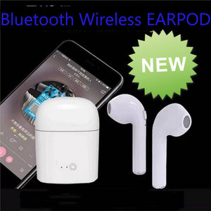 2019 Bluetooth Earpod Smart Wireless Bluetooth Earphone with Charging Box For Android or Apple