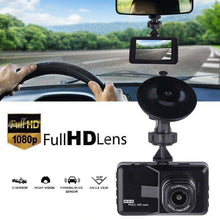 "Load image into Gallery viewer, 1080p HD 3.0"" LCD Car DVR Dash Camera Video Recorder Night Vision G-sensor 170°"