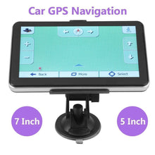 Load image into Gallery viewer, NEW 7 inch GPS for Truck Car Bus Navigation Touch Screen with Free AU Maps Navigator