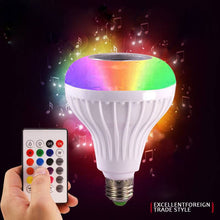 Load image into Gallery viewer, 12W LED RGB Bluetooth Music Speaker Bulb Wireless Play Party Light Lamp AU