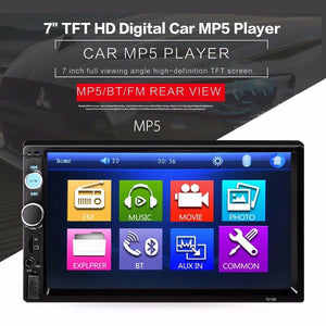 Brand New 7'' Double 2DIN Touch Car Stereo Radio MP5 MP3 Player Head Unit Bluetooth USB/FM