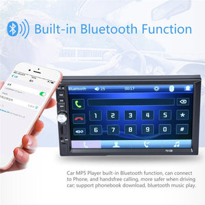 "2019 Bluetooth 7"" 2DIN Car Dash Headunit (Android Supported) USB Stereo Radio Music Player MP5 Player"