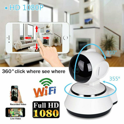 Mini Smart WiFi 1080 P HD IP Camera Home Security Home Safety Digital Zoom Two-way Intercom