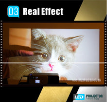 Load image into Gallery viewer, 🌟New Arrived🌟Real HD Projector with 1280*768P Support SD HDMI USB for Home Cinema VGA Projector