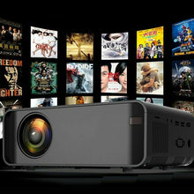 Load image into Gallery viewer, New 12000 Lumen Projector With USB, AV, HDMI, VGA,SD Built in Speaker