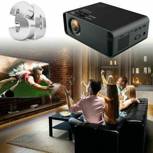 New 12000 Lumen Projector With USB, AV, HDMI, VGA,SD Built in Speaker