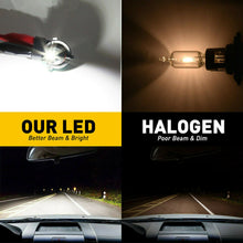 Load image into Gallery viewer, New 2PCs 9006 HB4 LED Headlight Bulb Kit Halogen Low Beam 6500K 48W 7600LM White Light