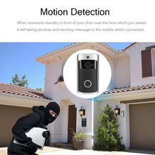 Load image into Gallery viewer, New Smart WiFi Wireless Doorbell + 3 x 18650 Rechargeable Batteries