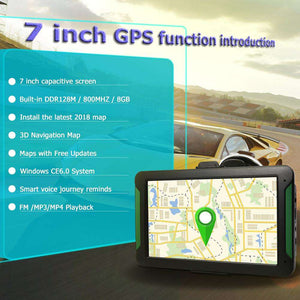 New 7 Inch GPS Touch Screen Car Truck Navigation System Portable 8GB FM Transmitter GPS Navigator
