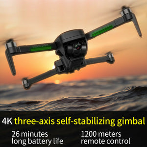 New SG906 Pro 2, 26 Mins Flight 1.2KM FPV 3-axis Gimbal 4K Camera Wifi GPS RC Drone Quadcopter