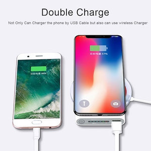 10000mAh Qi wireless Power Bank Emergency Battery wireless charging power banks Portable powerbank