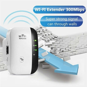 New 300 Mbps Wi-Fi Wireless Network Repeater Router High Power Wireless Signal Amplifier