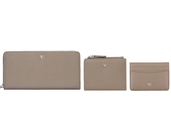 Wallet Essentials in Brown Taupe