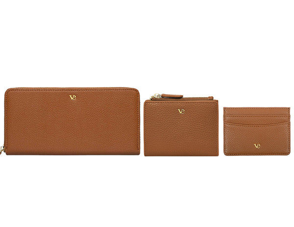 Wallet Essentials in Cognac Brown