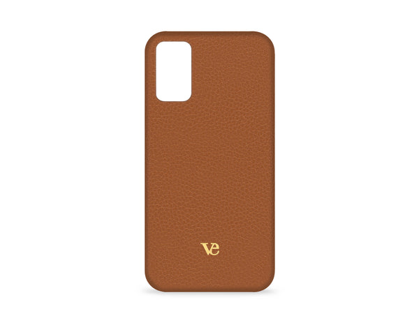 Samsung Galaxy S20 Plus Case in Cognac Brown