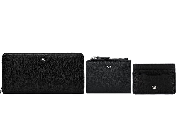Wallet Essentials in Midnight Black