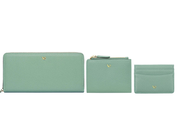 Wallet Essentials in Mojito Green