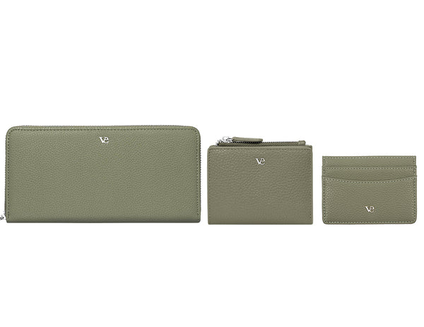 Wallet Essentials in Olive Green