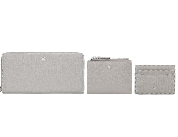 Wallet Essentials in Stone Grey