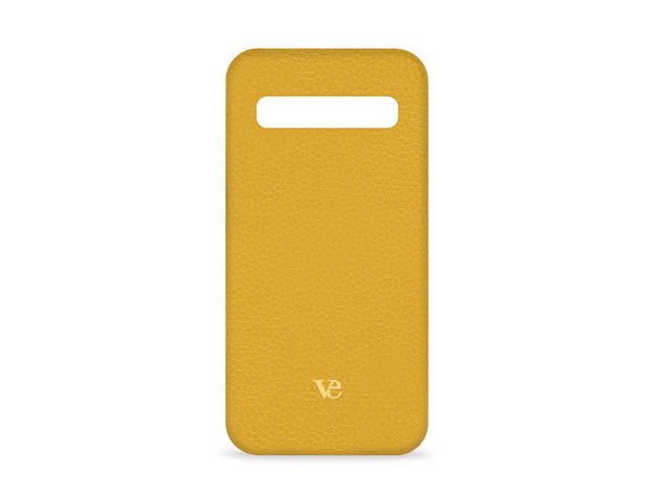 Samsung Galaxy S10 Case in Canary Yellow