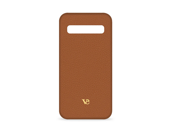 Samsung Galaxy S10 Case in Cognac Brown