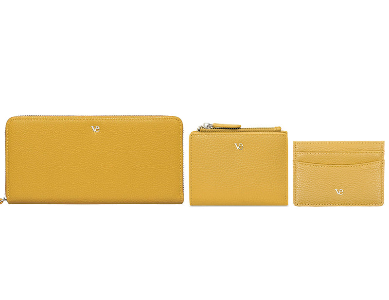 Wallet Essentials in Canary Yellow