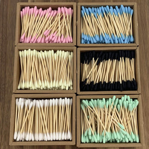 EcoBrushEarth™ Bamboo Cotton Buds - 1000 Buds