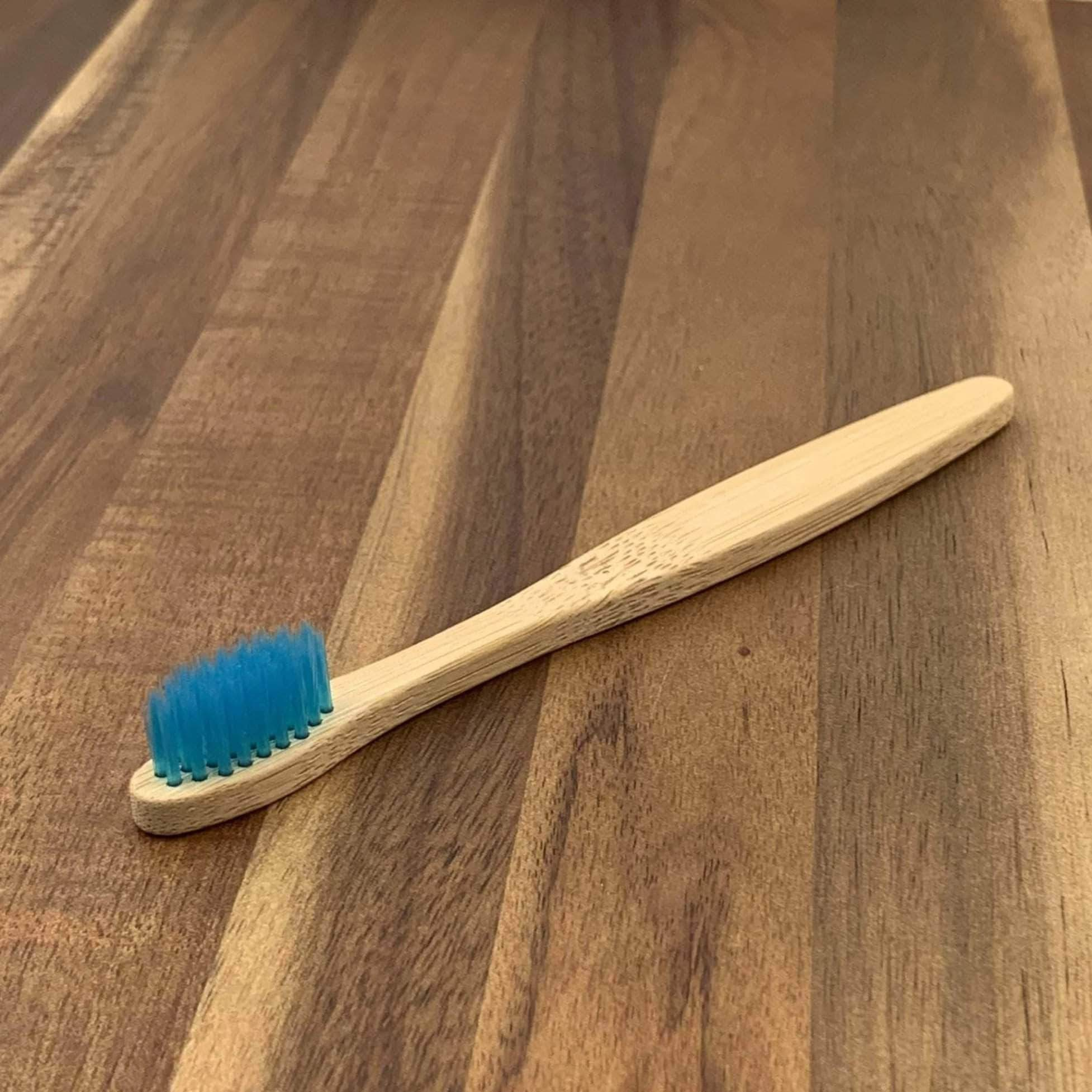 EcoBrushEarth™ Blue Kids Classic Brush - Soft