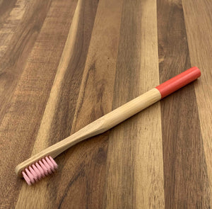 EcoBrushEarth™ Bundle of 10 - Red Round Brush - Soft