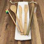EcoBrushEarth™ Eco Friendly Bamboo Bundle