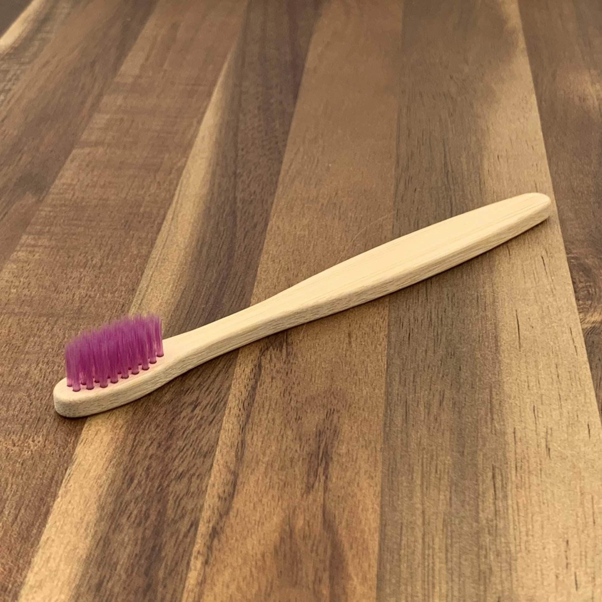 EcoBrushEarth™ Purple Kids Classic Brush - Soft