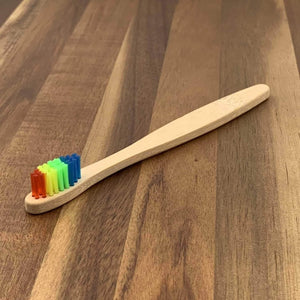 EcoBrushEarth™ Rainbow - Medium Kids Classic Brush - Soft