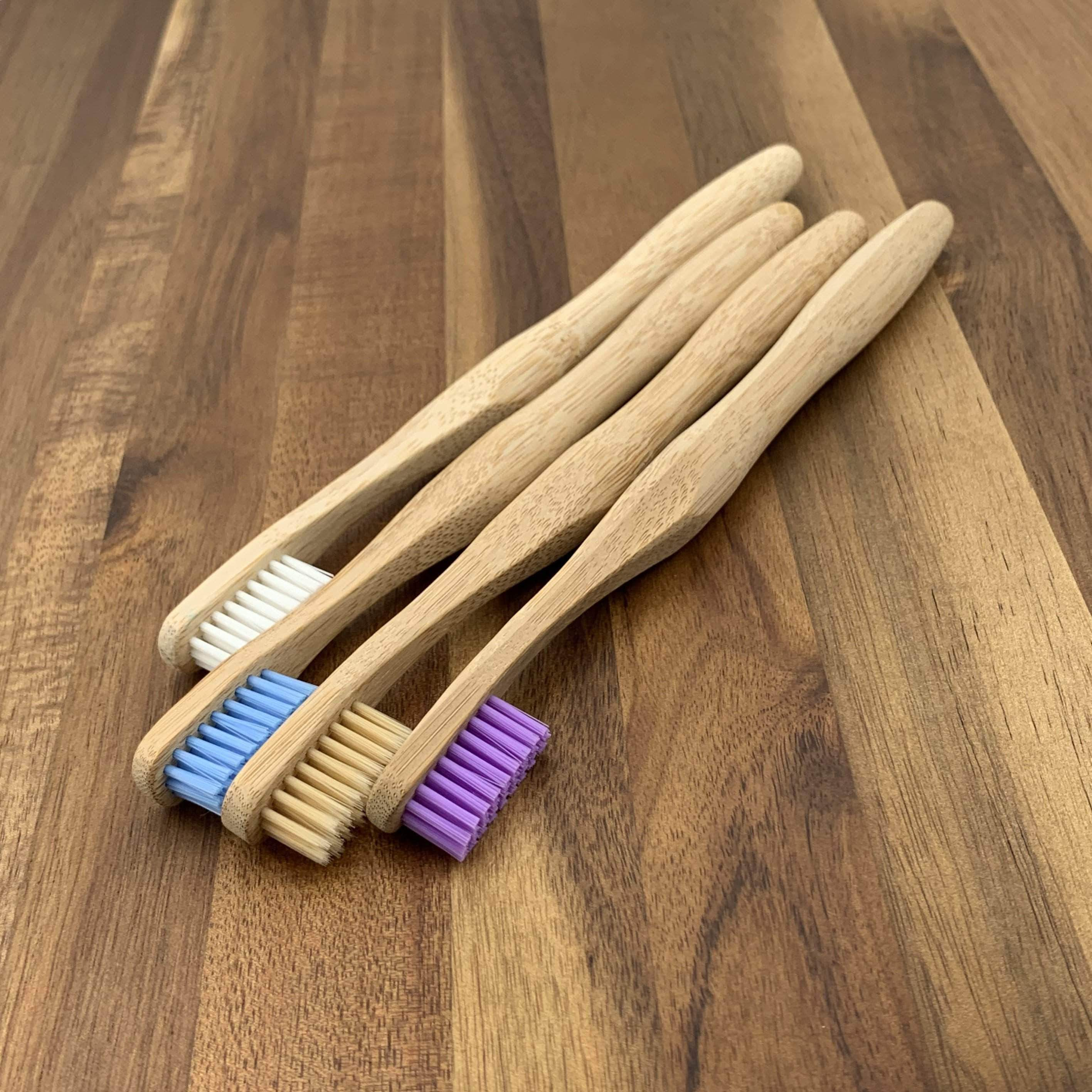 EcoBrushEarth™ Styled Handle Brush - Medium