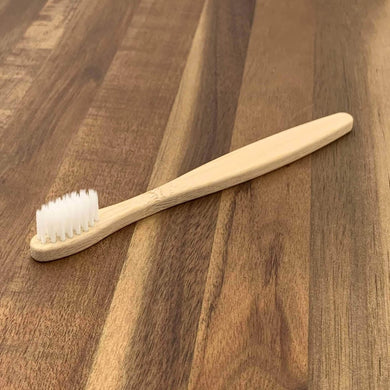 EcoBrushEarth™ White Kids Classic Brush - Soft